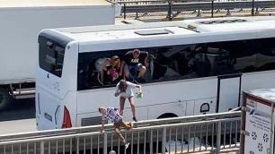 Antalyada turistlerin büyük paniği!