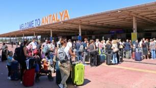 Antalyanın 9 aylık ziyaretçi sayısı belli oldu