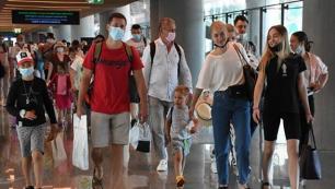Antalyaya saat başına kaç Rus turist geliyor!