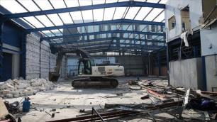 Atatürk Havalimanında yıkım başladı