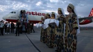 Atlasglobal Buharaya charter uçuşlara başladı, tarifeli seferler yolda