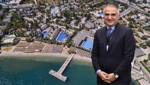 Bakan Ersoy 35 yıllık otelinin bulunduğu Torbanın turizm alanı ilan edilmesinin sebebini açıkladı