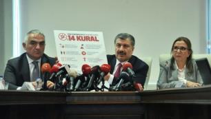 Bakan Ersoy: Sezon Nisan sonuna ertelenecekAynı bölgede 2-3 oteli olan birini açacak