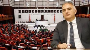 Bakan Ersoyun şirketi Meclis gündeminde!