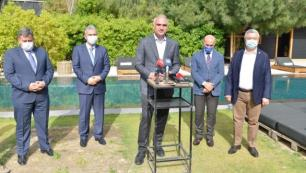 Bakan Ersoy Çeşme projesiyle ilgili son durumu paylaştı