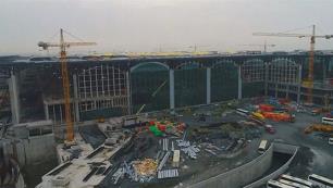 Bakan, havalimanı inşaatında kaç işçinin öldüğünü açıkladı