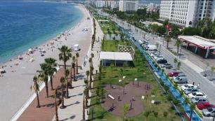 Belediyeden Konyaaltı sahili açıklaması!