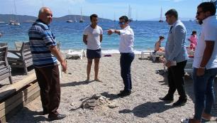 Bodrum Belediye Başkanı Aras, habersiz denetim yaptı