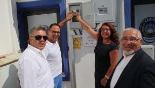 Bodrum Belediyesi güneşten elektrik üretiyor