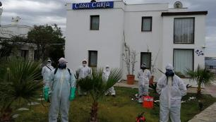 Bodrum'da üç otel sağlık çalışanları için tahsis edildi