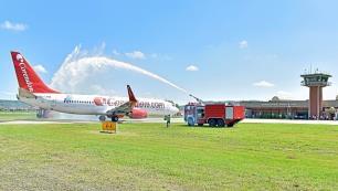 Corendon Airlines Zonguldak Havalimanına ilk yolcularını indirdi!