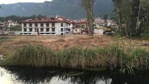 Çevreyi kirleten otel sahibine hapis cezası