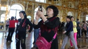 Tsarskoye Selo Müzesinde yer kavgası