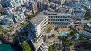 Divan Antalya Talya Otelde yıkım başladı