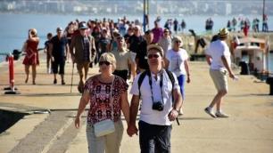 Ekimde 50 bin turist Türkiyeye gelecekti ama