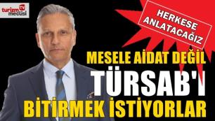 Firuz Bağlıkaya'dan çok sert açıklama: Mesele aidat değil, TÜRSAB'ı bitirmek istiyorlar