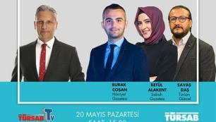Gazeteciler soruyor, TÜRSAB Başkanı Firuz Bağlıkaya canlı yayında cevaplıyor