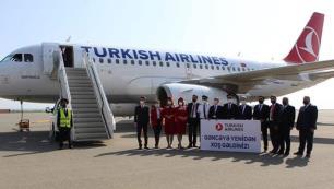 Gence-İstanbul hattında 14 ay sonra ilk uçuş!