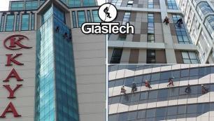 GlasTech'ten dış Cephe temizliğinde dağcılık teknolojisi