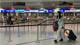 Havalimanındaki terminalleri kapatıyor