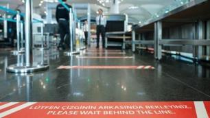 Havalimanında PCR testi yapan merkez hizmet vermeye başladı