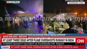 Hindistanda uçak düştü!