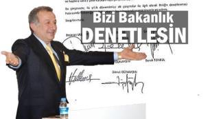 İbra olamayan Başaran Ulusoy yönetimi denetimi Bakanlığın yapmasını istedi
