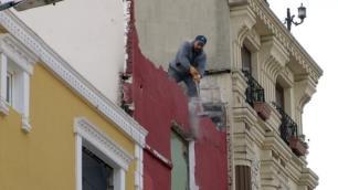 İstanbuldaki o otel balyozla yıkılıyor