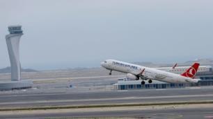 İstanbul Havalimanından yurt dışına uçuşlar başladı