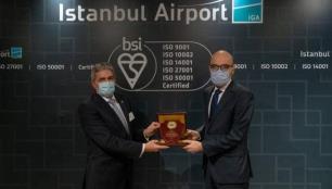 İstanbul Havalimanı uluslararası sertifikalara layık görüldü