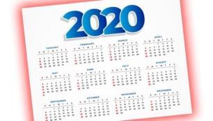 İşte 2020 resmi tatil günleri