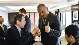 Japonyada uçak diplomasisi