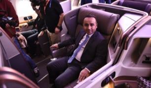 Jetlag etkisini azaltan uçak Türkiye seferlerine başladı