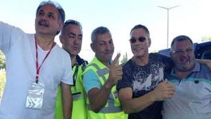 Kaçak tur denetiminde Van Damme sürprizi!