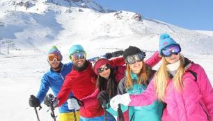 """Kayak sezonunda Kayseri'ye """"turist"""" yağacak"""