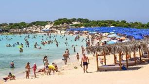 Kıbrısta Rus turist sevinci!