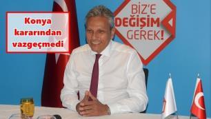 Konya'dan Değişim'e tam destek