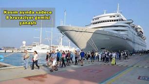 Kruvaziyer turizminin 11 aylık rakamları açıklandı