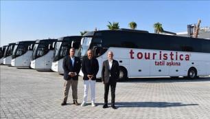 Kültür turları için 5 otobüs daha!