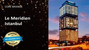 """Le Meridien Istanbul Etiler """"Yılın Oteli"""" ödülüne layık görüldü"""