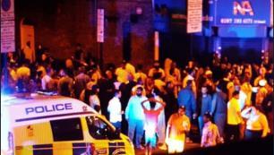 Londrada camiye saldırı