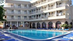 Marmariste 75 odalı otel icradan satılık!