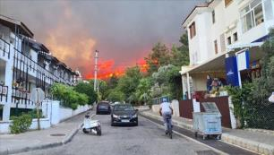 Marmaris turizmini pandemiden sonra bir de yangın vurdu!