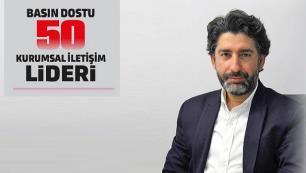 Mehmet Güneli Basın Dostu 50 Kurumsal İletişim Lideri arasında