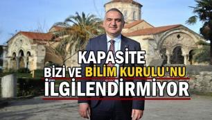 Mehmet Nuri Ersoy: Kapasite bizi ve Bilim Kurulunu ilgilendirmiyor