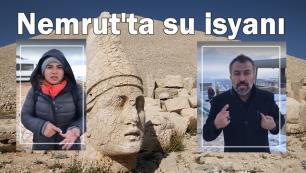 Nemrutun su sorunu bir yıldır çözülemedi Turizmciler isyanda