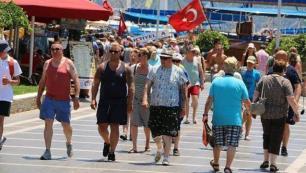 O pazarda Yunanistanı geçtik