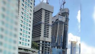 Otel inşaatını görenler panik yaptı ama