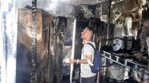 Otel lojmanında korkutan yangın: 2 kişi hastaneye kaldırıldı