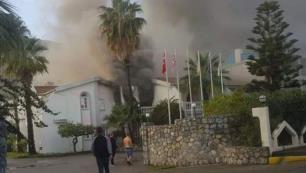 Otelde feci yangın: İngiliz turist öldü